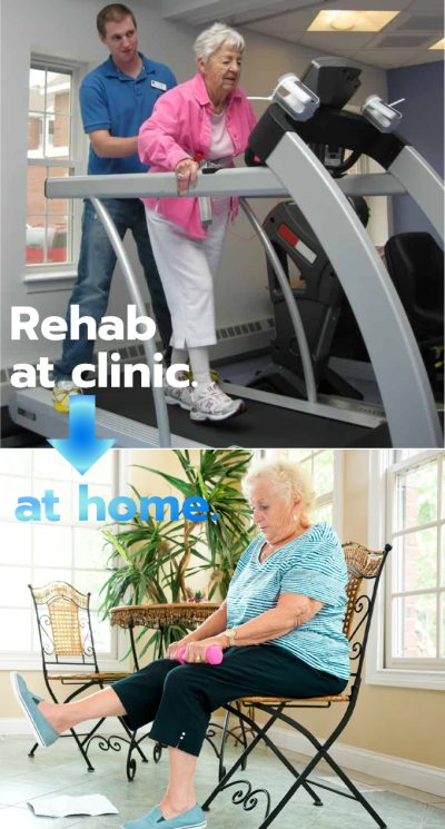 Clinic to at-home 2